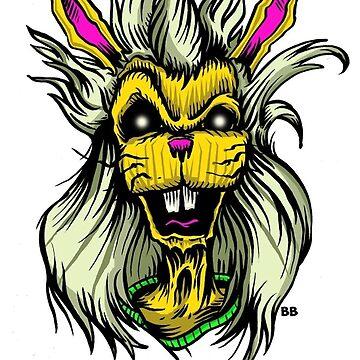 """Hair'Em Ed'd """" Bobby aka BadBunny """" Logo by HairEm1980s"""