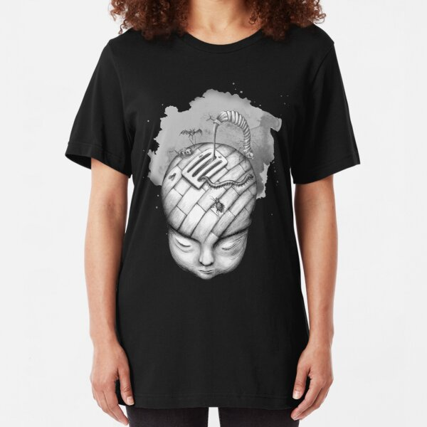 Horror Movies in My Head Slim Fit T-Shirt