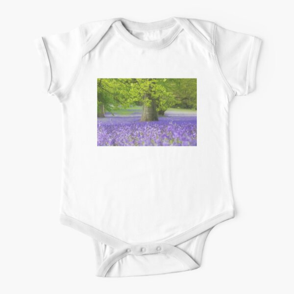 Bluebell Wood Short Sleeve Baby One-Piece