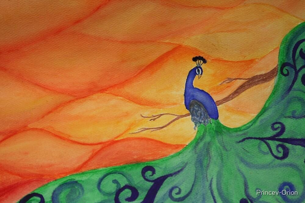 Peacock Vanity by Princev-Orion