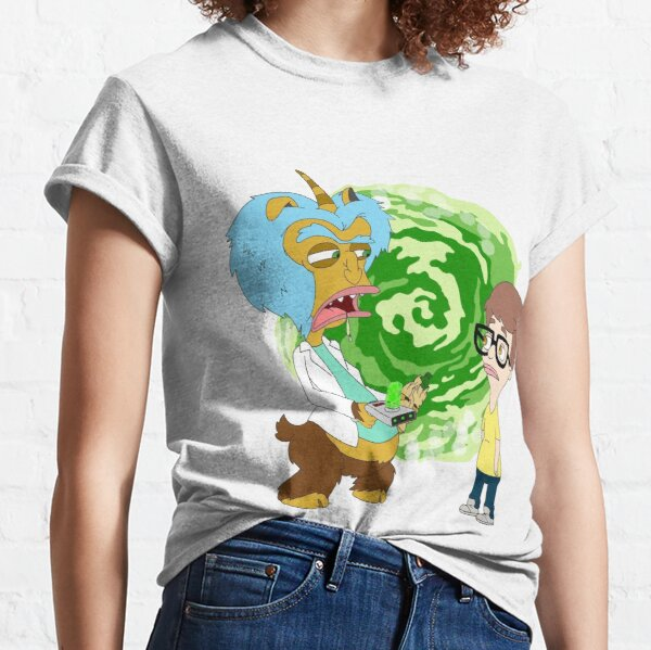 Rick and Morty are Big Mouth Characters Classic T-Shirt