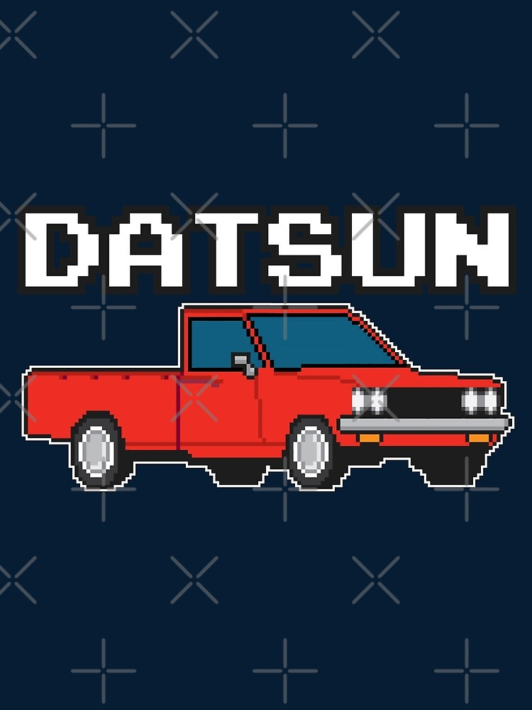 Datsun 620 8Bit  by The World Of Pootermobile