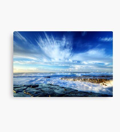 Splash & Splash Canvas Print