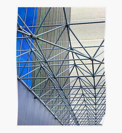 Architectural Lines - Perth CBD - Western Australia Poster