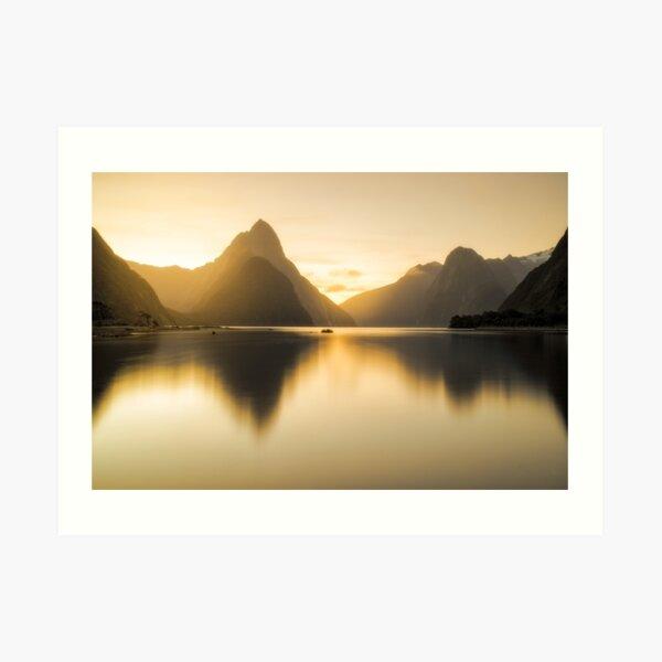 Milford Sound Art Print
