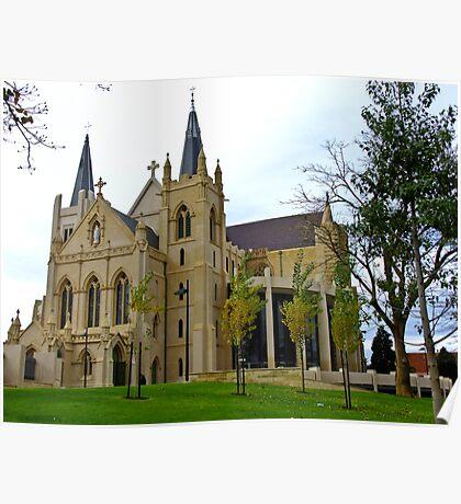 St Mary's church - Perth, Western Australia Poster