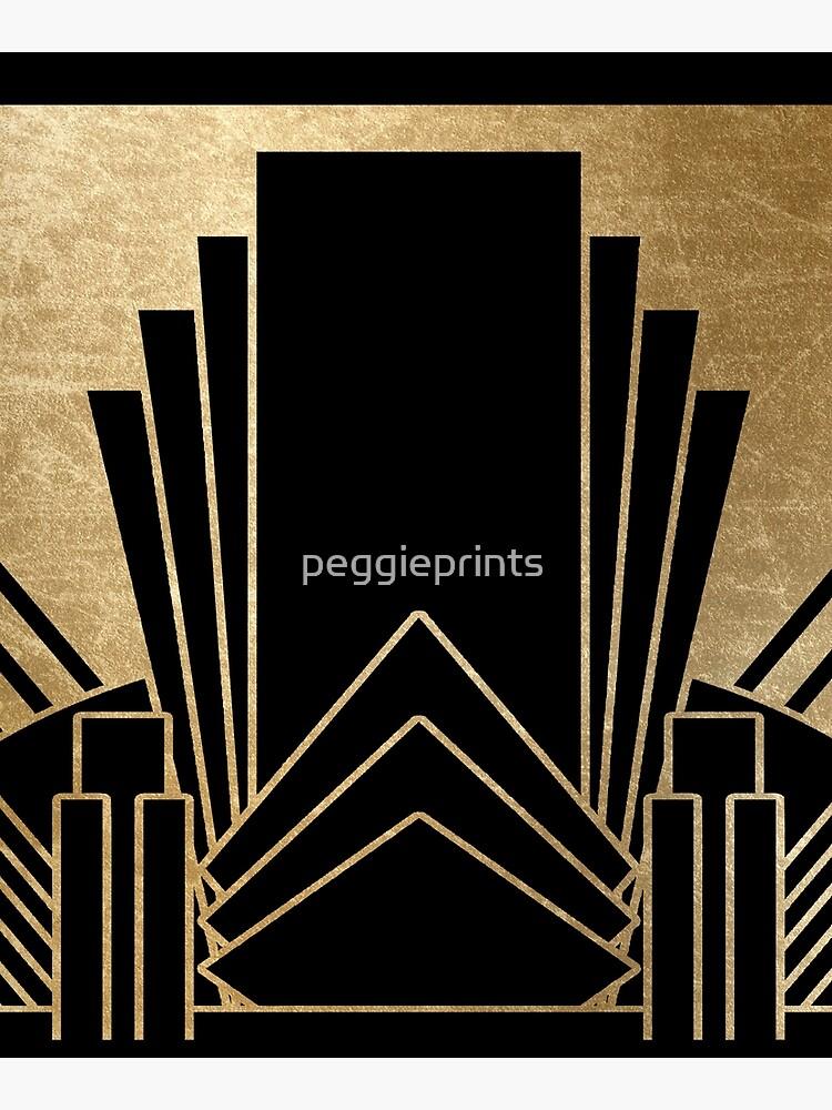 Art deco design by peggieprints