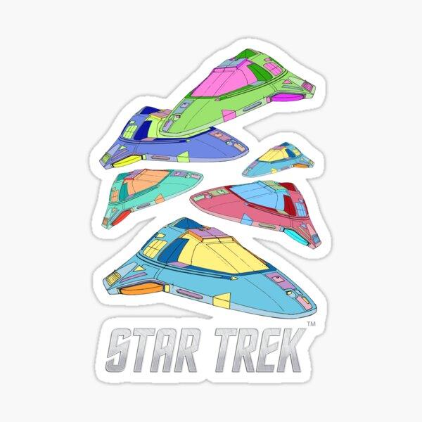 Star Trek, Delta Flyer spaceship Voyager Sticker
