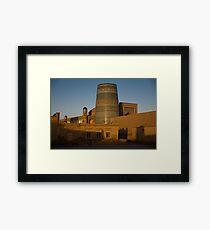 Khiva walls at dawn Framed Print