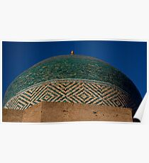 Green dome detail Poster
