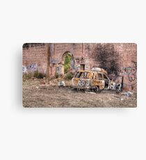 Burnt Out Canvas Print