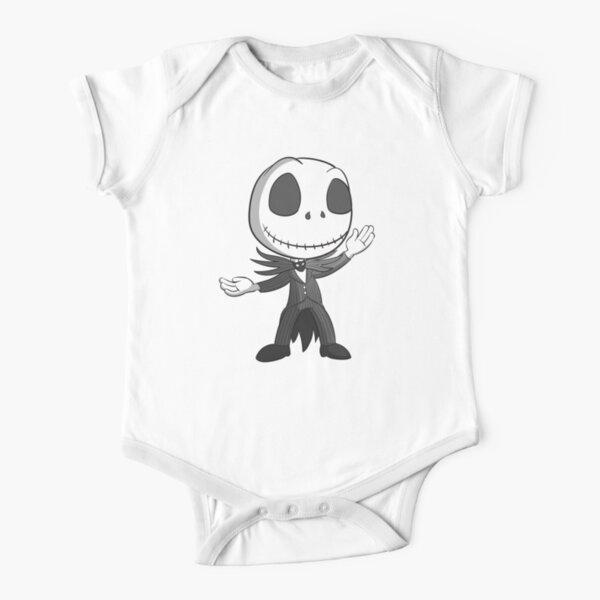 Jack Skellington Face Santa Kids Toddler T-Shirt