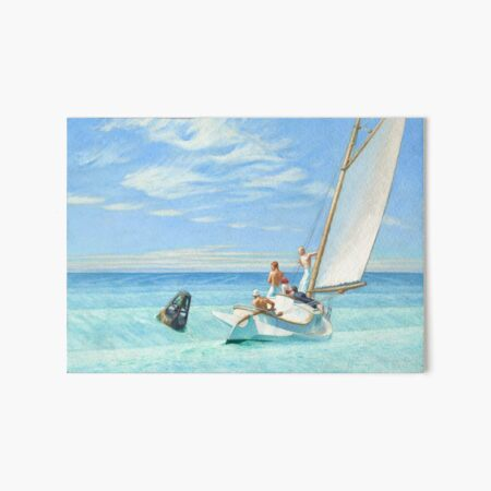 Edward Hopper Ground Swell Art Board Print