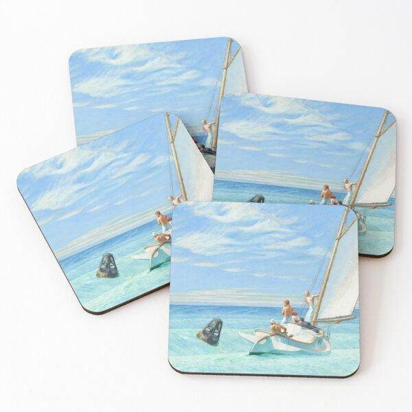 Edward Hopper Ground Swell Coasters (Set of 4)
