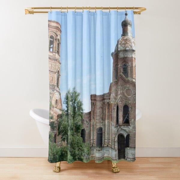 Basilica  Pattern Shower Curtain