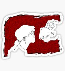 A Kiss Sticker