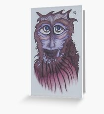 Yarck - Forest Dweller Greeting Card