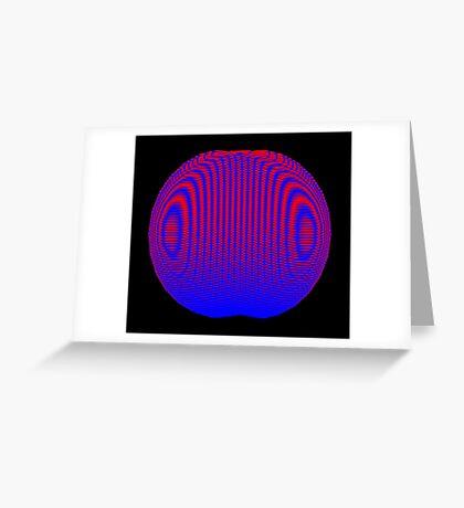 XOR-swashes Greeting Card