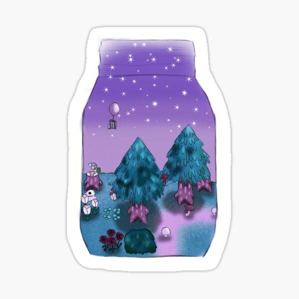 Animal Crossing New Leaf vidrio Pegatina