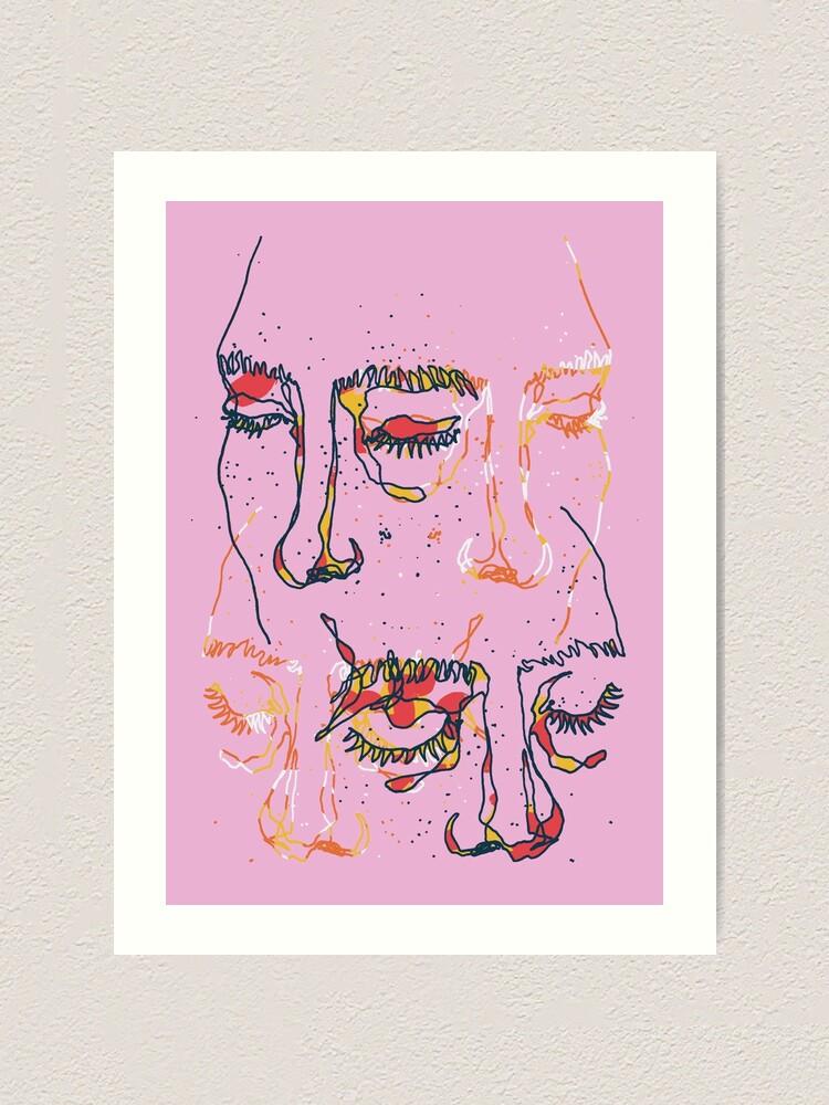 Alternate view of Sleepy People Art Print
