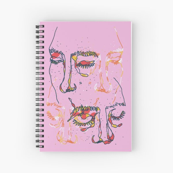 Sleepy People Spiral Notebook