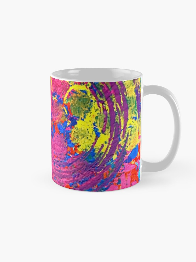 Alternate view of The Chaos of Anxiety  Mug