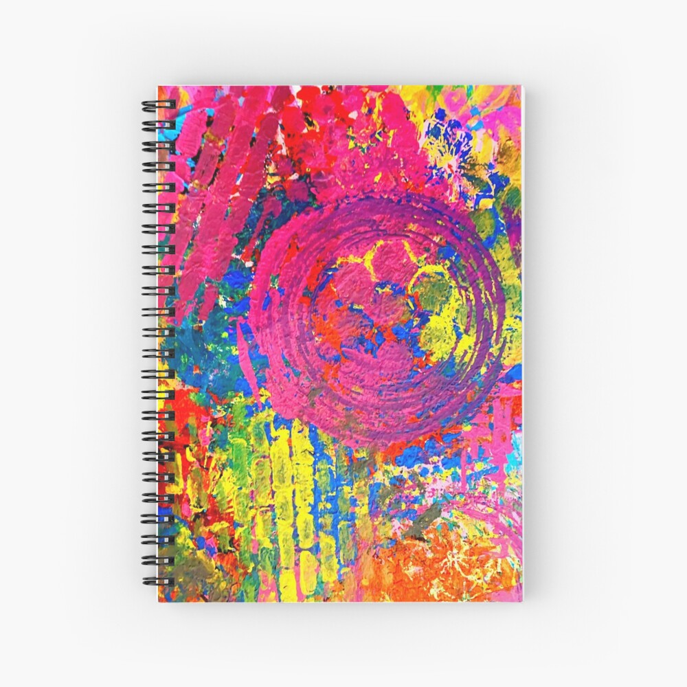 The Chaos of Anxiety  Spiral Notebook