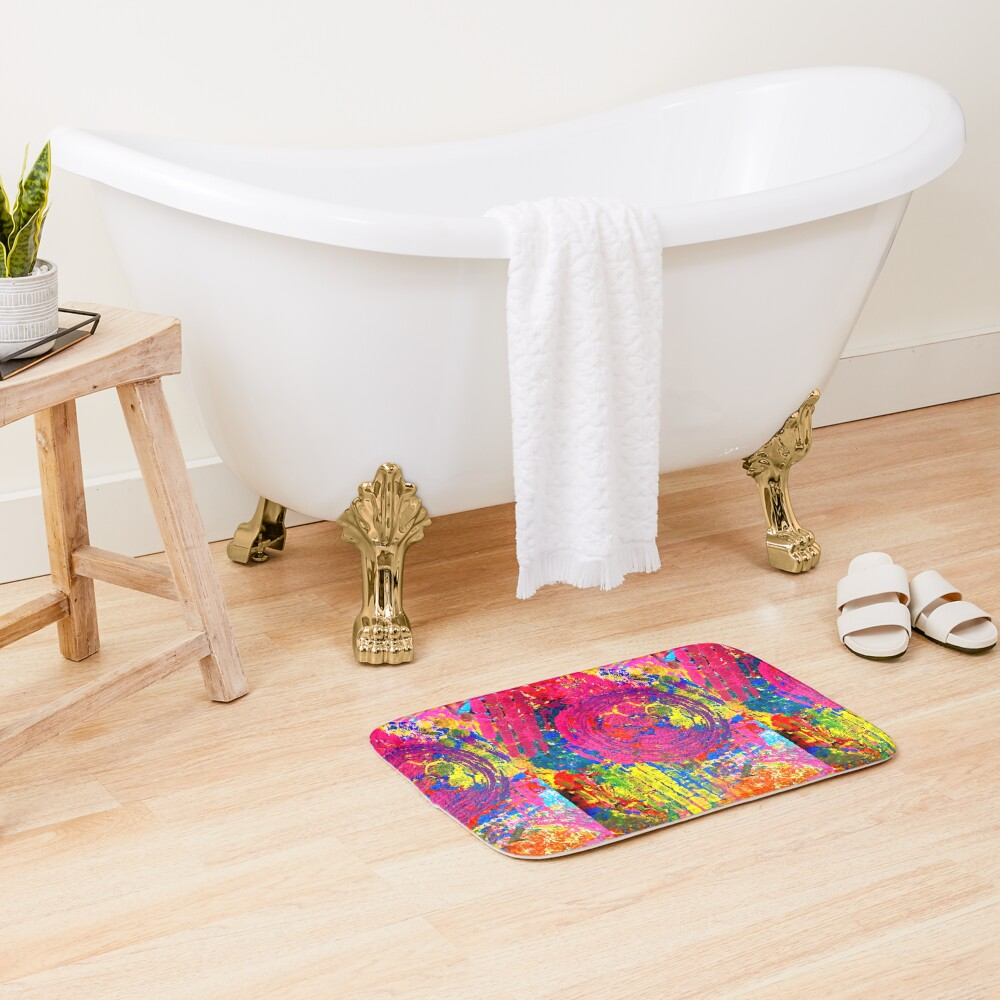 The Chaos of Anxiety  Bath Mat
