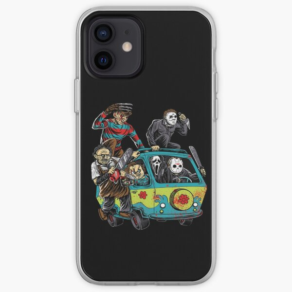 The Massacre Machine Horror iPhone Soft Case