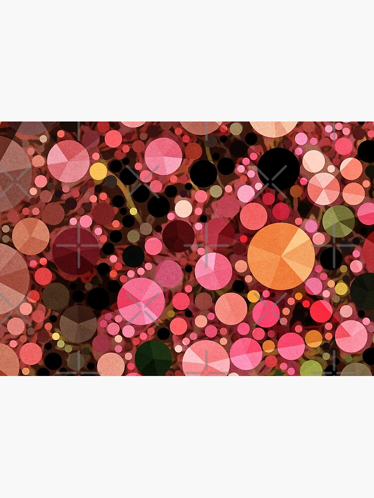 Abstract Art - Geometric Bubbles  by OneDayArt