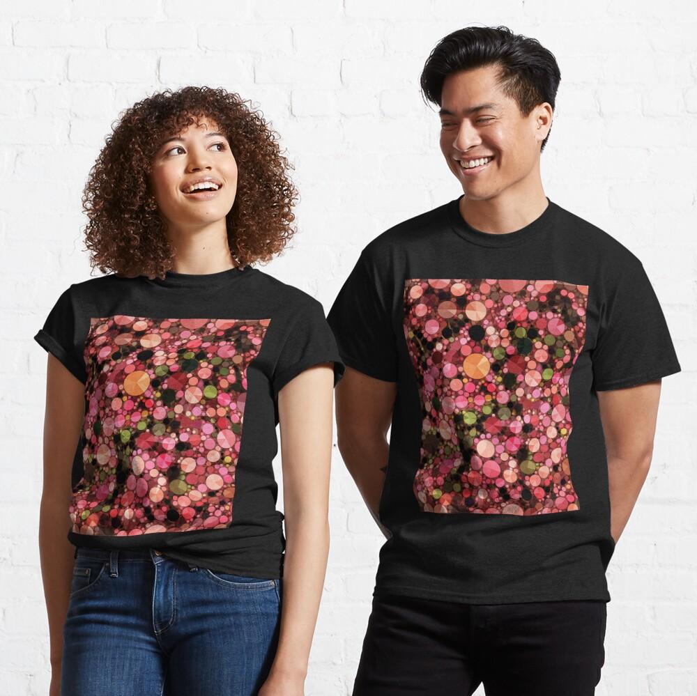 Abstract Art - Geometric Bubbles  Classic T-Shirt