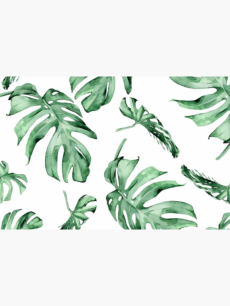 Monstera Pattern Green by Wheimay