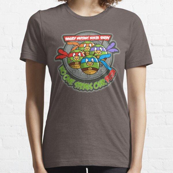 Angry Mutant Ninja Birds Essential T-Shirt