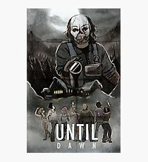 Until Dawn - Psycho Poster Photographic Print