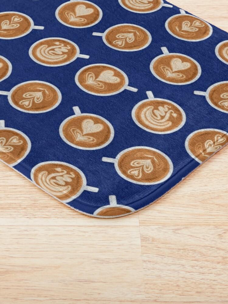 Alternate view of Coffee Art Cups Bath Mat