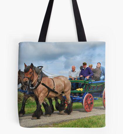 Farmer's wagon from Schouwen. Tote Bag