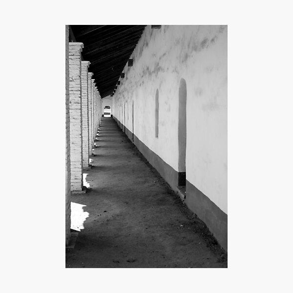 La Purisima Mission Hall Photographic Print