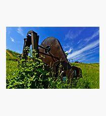 Rusty Gadget Photographic Print