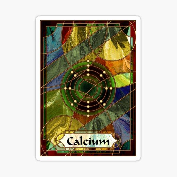 Element 20: Calcium Sticker