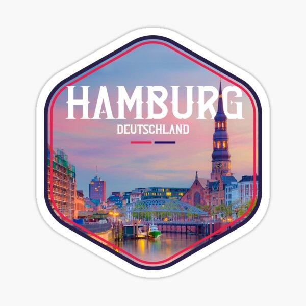 Hamburg, Germany Sticker
