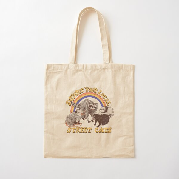 Street Cats Cotton Tote Bag