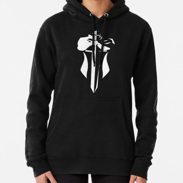 Reverse Silent Knight  Pullover Hoodie