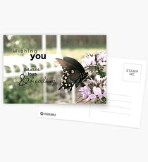 Peace, Love & Healing Postcards