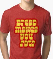Scott Pilgrim - Bread Makes You Fat? Tri-blend T-Shirt