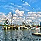 Mayport Fishing Village, Florida by Joseph Rieg