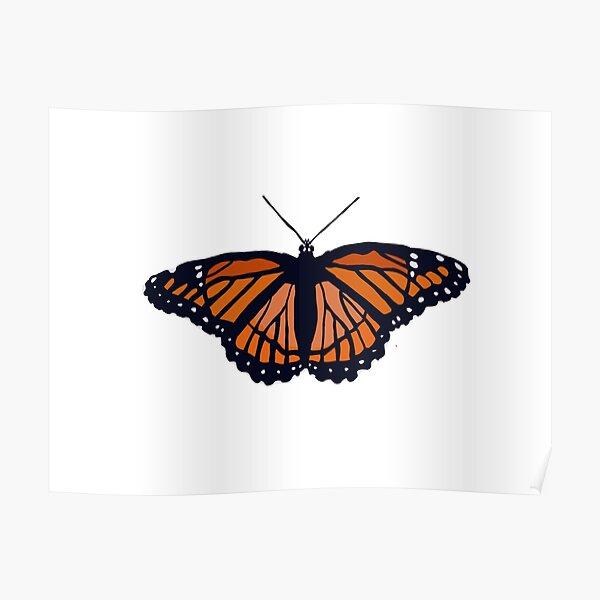 Aesthetic Butterfly Wall Art Redbubble