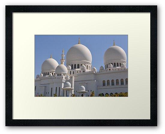 Sheikh Zyed mosque  by Farah McLennan