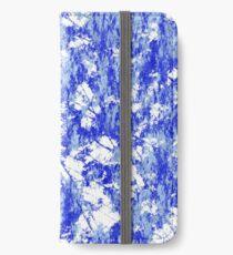 Blue rust iPhone Wallet/Case/Skin