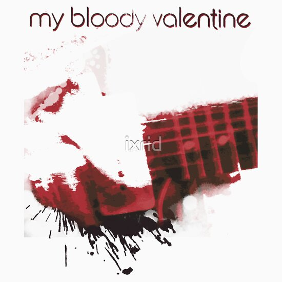 TShirtGifter presents: My Bloody Valentine