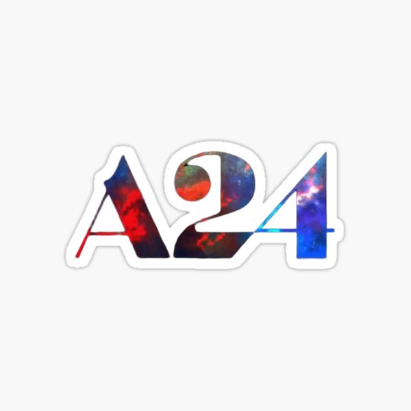 Uncut Gems A24 Logo Sticker
